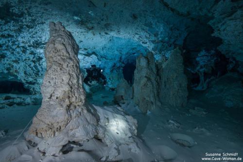 Foto: Cave-Woman Location: Cenote Calavera