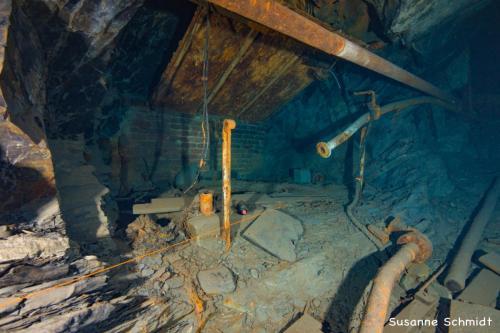 Foto: Cave-Woman Location: Schiefergrube Christine